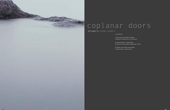 TECNOPOLIS coplanar doors